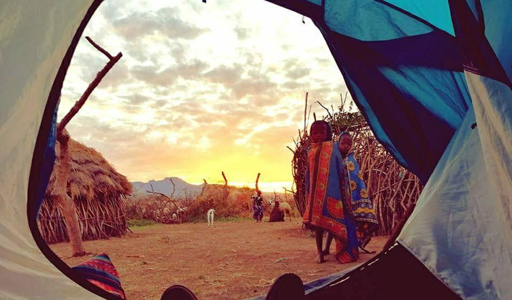 Camping in Karamoja during your self drive safari through Uganda
