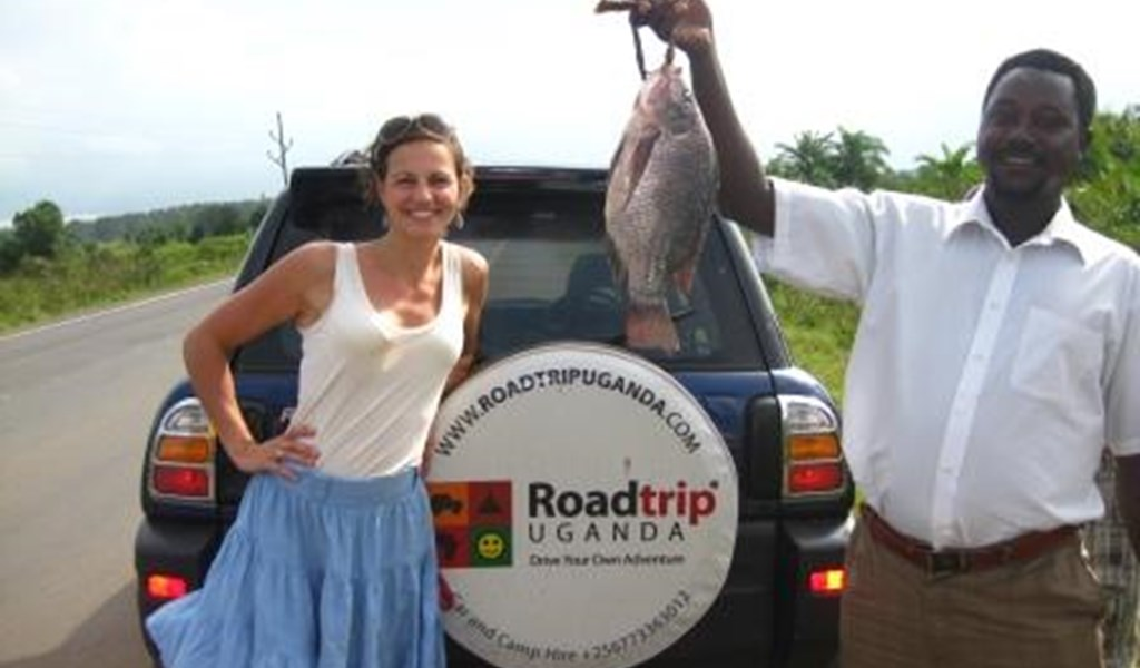 Stocking up supplies on a self drive safari with a rental car from Roadtrip Uganda.jpg