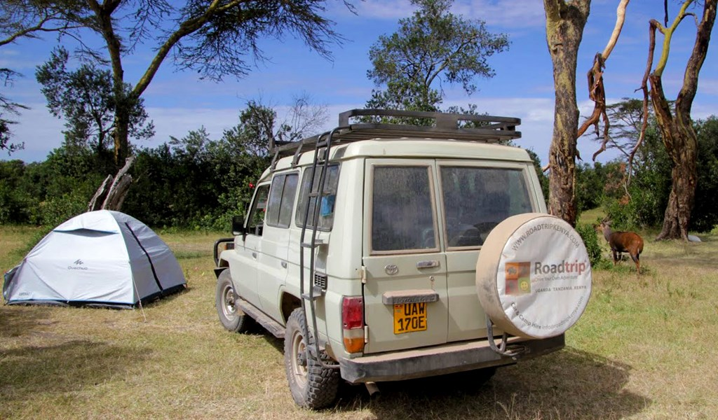 Camping in Ol Pejeta National Park