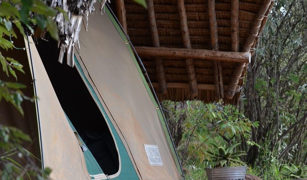 self drive safari rent a car in kenya - tent at maji moto eco camp.JPG