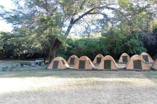 Amboseli public campsite - $