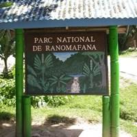 Camping at the park entrance - €